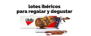 Prueba los lotes ibéricos Olalla para degustar y regalar